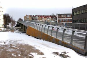 Gang- og sykkelbro over Grenseveien