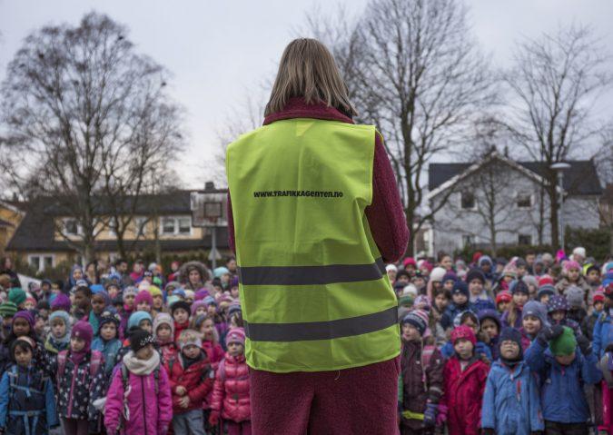 Trafikkagenten 2015: Oppdrag skolevei - Guri Melby
