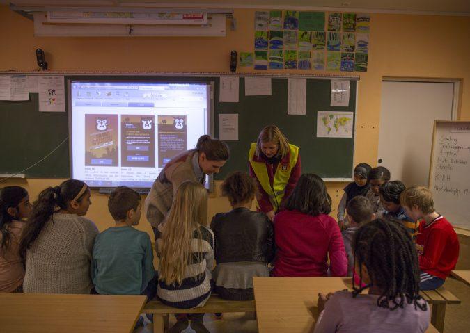 Trafikkagenten 2015: Oppdrag skolevei - Klasserom