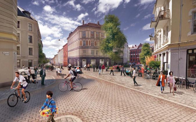 Spørsmål og svar om KVU for gatebruk og byrom på Grünerløkka