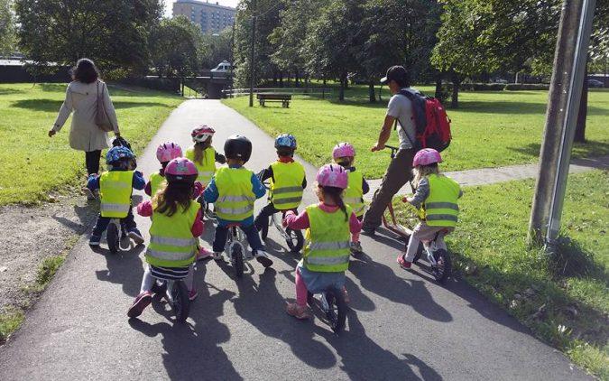 Sykkelskolen – på sykkel fra starten