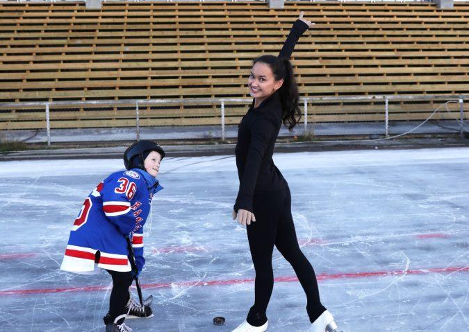 Hockey og dans på Valle Hovin