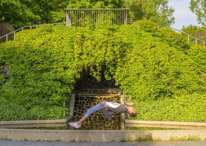 Kampen park - floating image