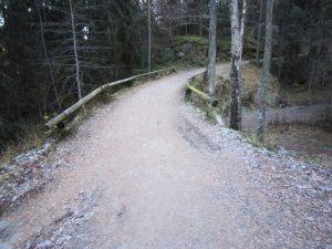 """Spiralen"" i Sarabråtveien ved Nøklevann"
